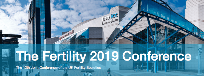 Come and see us on stand 62 at Fertility 2019